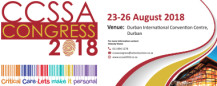 The Critical Care Society of Southern Africa Conference ( CCSSA) 2018